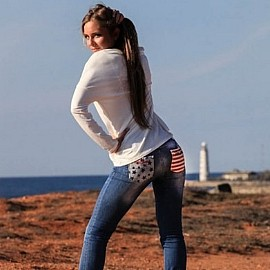 Amazing miss Kristina, 27 yrs.old from Simferopol, Russia