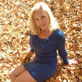 Gorgeous miss Irina, 51 yrs.old from Lugansk, Ukraine