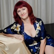 Gorgeous girlfriend Valentina, 45 yrs.old from Kiev, Ukraine
