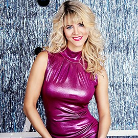 Charming wife Elena, 44 yrs.old from Odessa, Ukraine