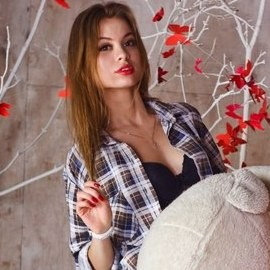 Hot mail order bride Anastasiia, 21 yrs.old from Kharkov, Ukraine