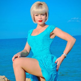 Single girlfriend Elena, 43 yrs.old from Kerch, Russia