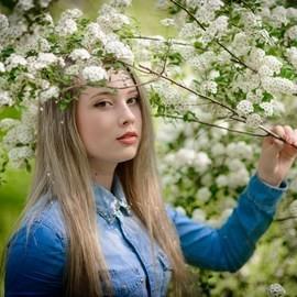 Single girlfriend Elizaveta, 20 yrs.old from Donetsk, Ukraine
