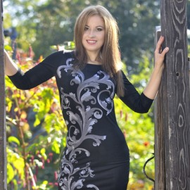 Amazing wife Lyudmila, 36 yrs.old from Poltava, Ukraine