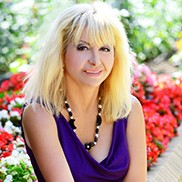 Single bride Valentina, 58 yrs.old from Berdyansk, Ukraine