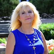 Single bride Valentina, 57 yrs.old from Berdyansk, Ukraine