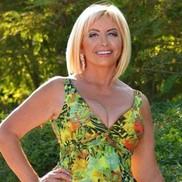 Single bride Valentina, 62 yrs.old from Berdyansk, Ukraine