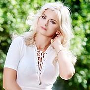 Nice bride Svetlana, 43 yrs.old from Poltava, Ukraine