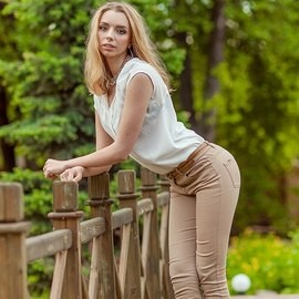 Single woman Anna, 22 yrs.old from Kiev, Ukraine