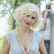 Single wife Tatiana, 47 yrs.old from Zhytomyr, Ukraine
