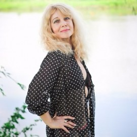 Gorgeous bride Tatiana, 55 yrs.old from Kiev, Ukraine