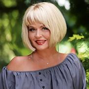 Single girlfriend Lyudmila, 59 yrs.old from Kharkov, Ukraine