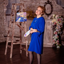 Single mail order bride Elena, 49 yrs.old from Pskov, Russia