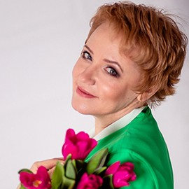 Pretty mail order bride Elena, 49 yrs.old from Pskov, Russia